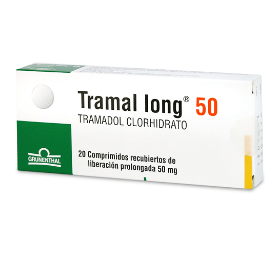 Tramal long 50 mg 20 comprimidos