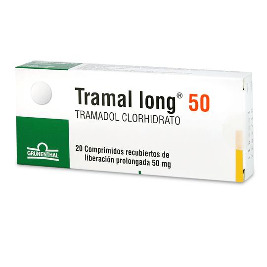 Tramal long 50 mg 20 comprimidos