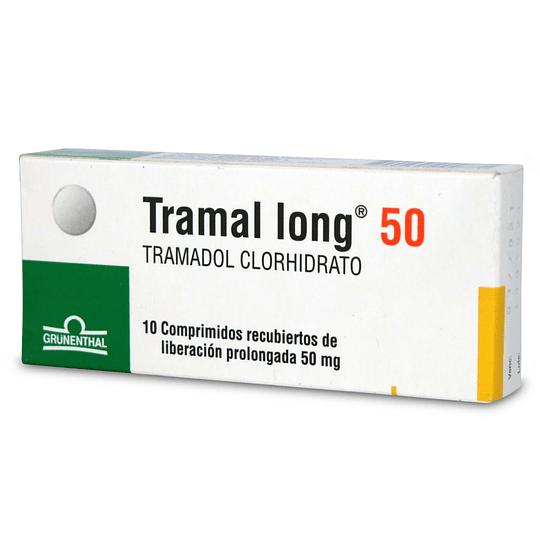 Tramal long 50 mg 10 comprimidos