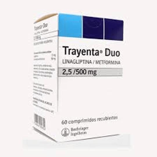 Trayenta Duo 2,5 / 500 mg 60 comprimidos