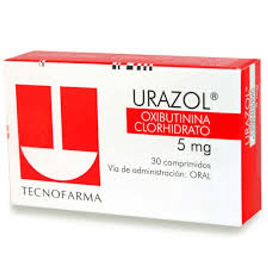 Urazol 5 mg 30 comprimidos