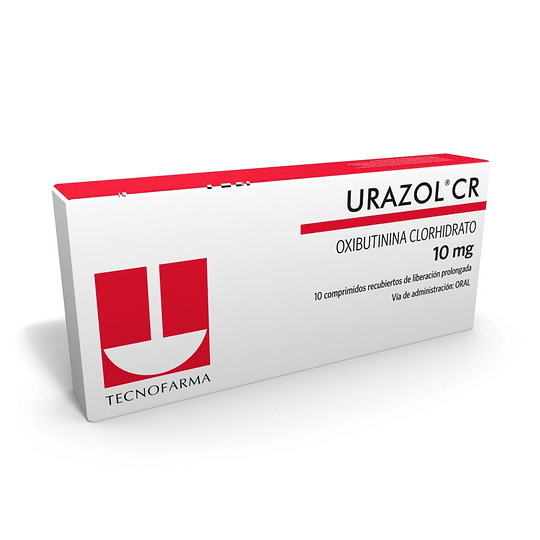 Urazol CR 10 mg 10 comprimidos