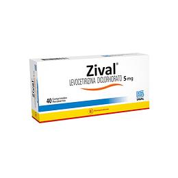 Zival 5 mg 40 comprimidos