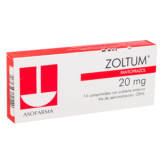 Zoltum 20 mg 28 comprimidos