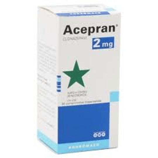 Acepran 2 mg por 30 comprimidos