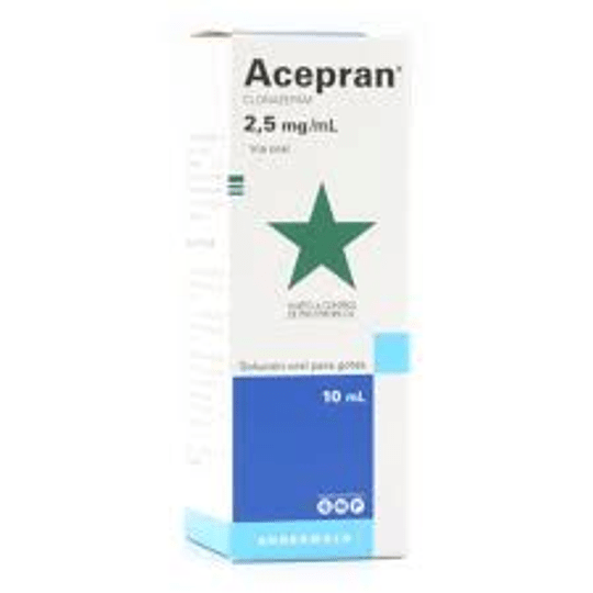 Acepran 2,5 mg / ml, gotas 10 ml