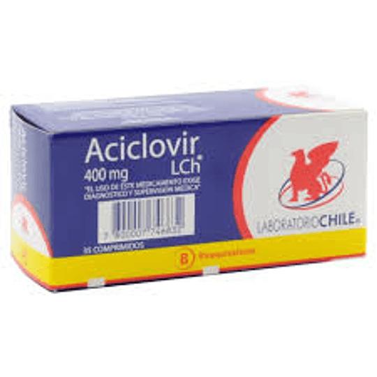 Aciclovir 400 mg por 35 comprimidos