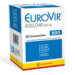 EuroVir 800 mg 35 comprimidos
