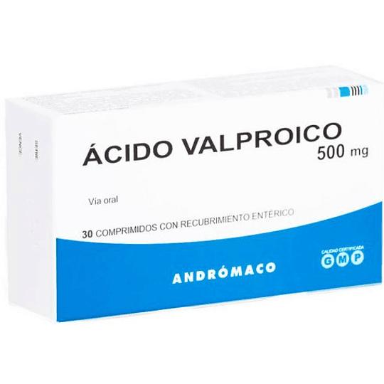 Ácido Valproico 500 mg 30 comprimidos