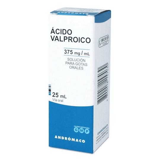 Ácido Valproico 375 mg / ml gotas 25 ml