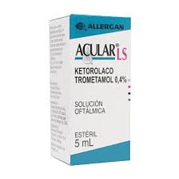 Acular LS  0.4% Solución Oftálmica 5 ml