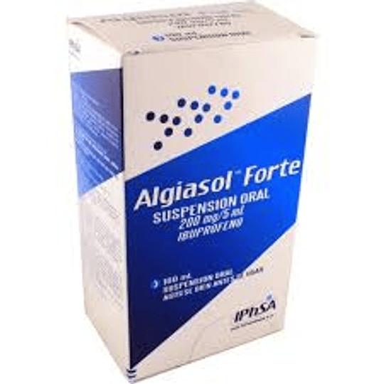 Algiasol Forte 200 mg, suspensión 100 ml