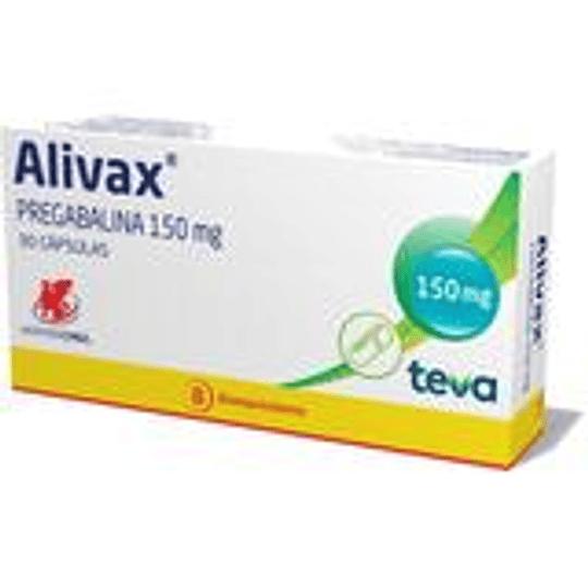 Alivax 150 mg 30 cápsulas
