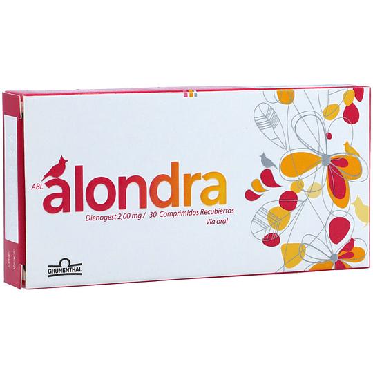 Alondra 2 mg, 30 comprimidos