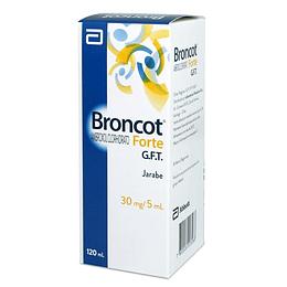 Broncot Forte GTF 30 mg / 5 ml, Jarabe 20 ml