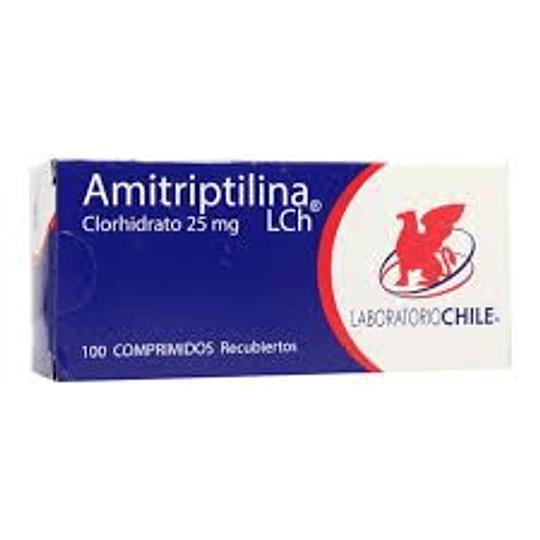 Amitriptilina 25 mg 100 comprimidos