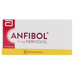 Anfibol 5 mg, 30 comprimidos