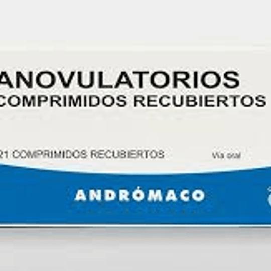 Anovulatorios microdosis 21 comprimidos