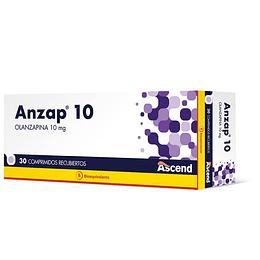 Anzap 10 mg 30 comprimidos