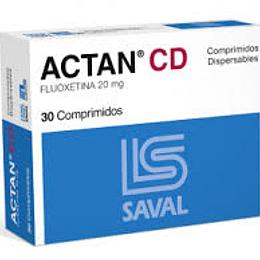 Actan CD 20 mg, 30 comprimidos