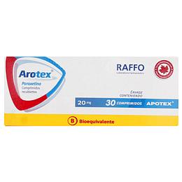 Arotex 20 mg 30 comprimidos
