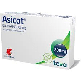 Asicot 200 mg 30 comprimidos