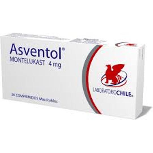 Asventol 4 mg 30 comprimidos