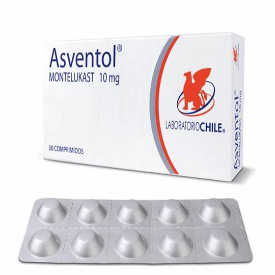 Asventol 10 mg  30 comprimidos