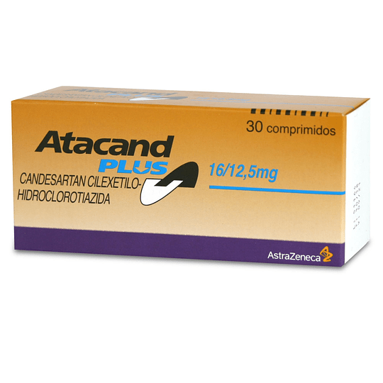 Atacand Plus 16 / 12.5 mg  30 comprimidos