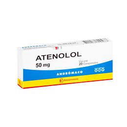 Atenolol 50 mg 20 comprimidos