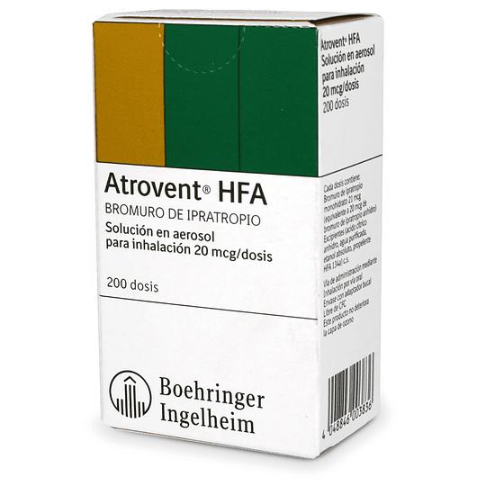 Atrovent HFA 200 mcg Inhalador 200 dosis
