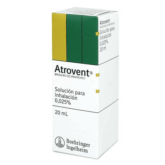 Atrovent solución para inhalación 0,025 %, 20 ml