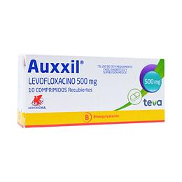 Auxxil 500 mg 10 comprimidos