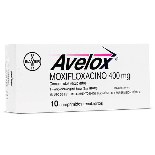 Avelox 400 mg 10 comprimidos