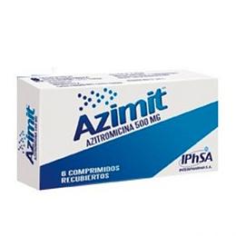 Azimit 500 mg 6 comprimidos