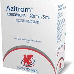 Azitrom 200 mg / 5 ml suspensión 30 ml