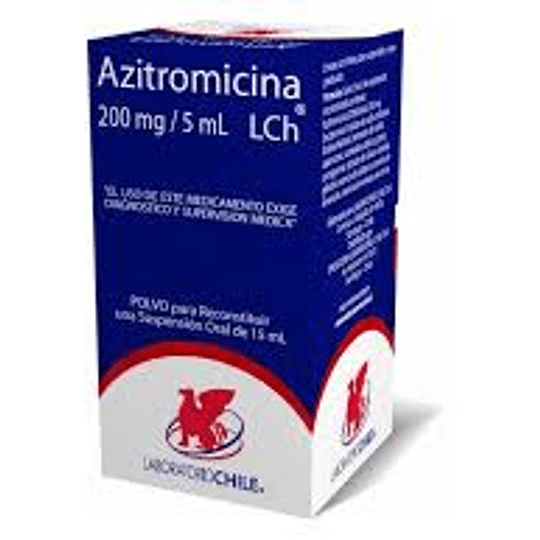 Azitromicina 200 mg / 5 ml suspensión 15 ml