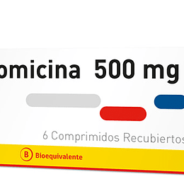 Azitromicina 500 mg 6 comprimidos
