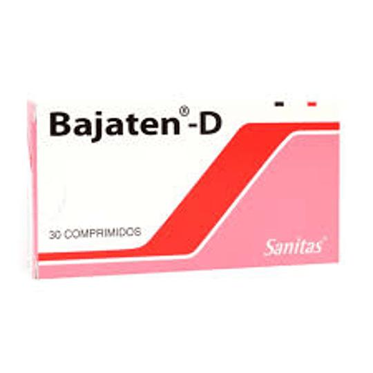 Bajaten-D  10 / 25 mg 30 comprimidos