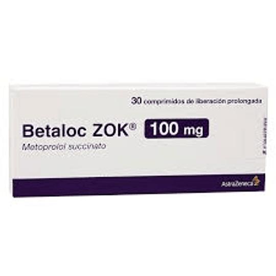 Betaloc Zok 100 mg 30 comprimidos