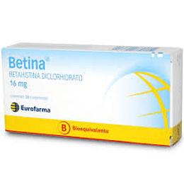 Betina 16 mg 30 comprimidos
