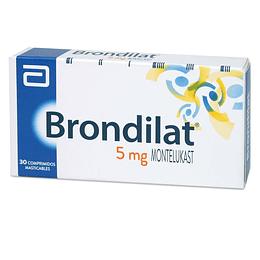 Brondilat 5 mg 30 comprimidos masticables