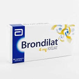 Brondilat 4 mg 30 comprimidos