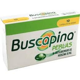 Buscapina Perlas 10 mg 10 comprimidos