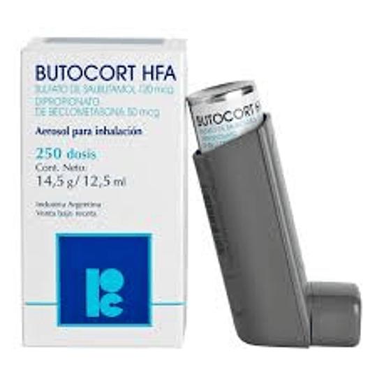 Butocort HFA 14,5 g / 12,5 ml Inhalador 250 dosis