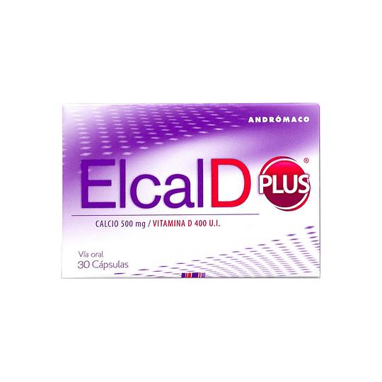 Elcal D Plus 500 mg Vitamina D 30 comprimidos
