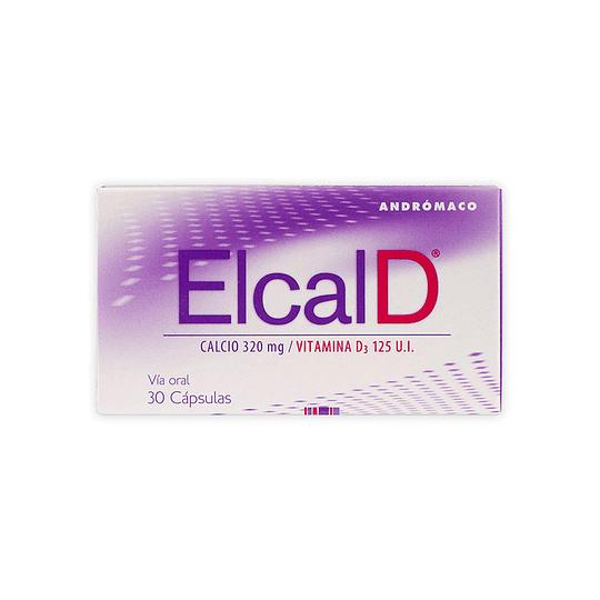 Elcal D 320 mg Vitamina D 30 comprimidos