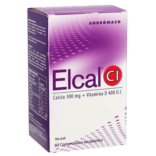 Elcal CI 300 mg 60 comprimidos