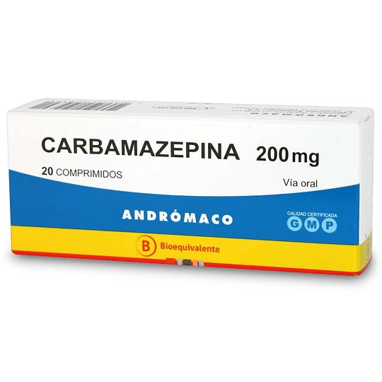 Carbamazepina 200 mg 20 comprimidos