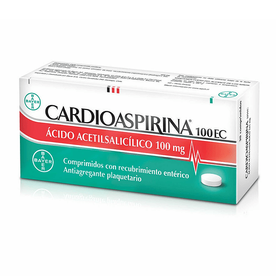 Cardioaspirina 100 mg 50 comprimidos